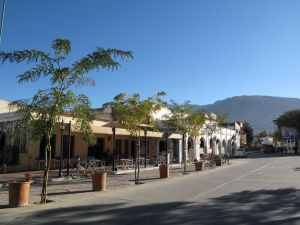 The town of Cafayate, Salta, Argentina
