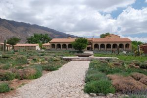 The Colomé winery and hotel, Molinos, Salta, Argentina