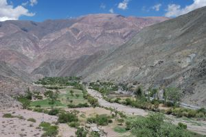 Valley near the town of Purmamarca, province of Jujuy, Argentina