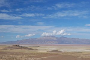 The Andean Altiplano of the Guayatayoc Lagoon, province of Jujuy