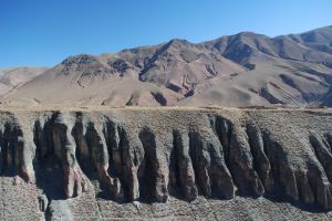 The valley of Iruya, in the province of Salta, Argentina