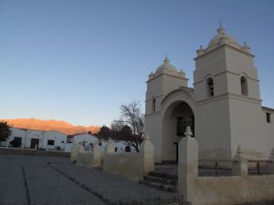 "The church of the ""pueblo"" of Molinos, Salta, Argentina"