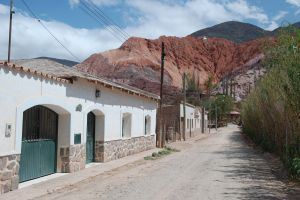 The town of Purmamarca, Jujuy, Argentina