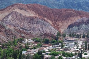 The town of Purmamarca, province of Jujuy, Argentina