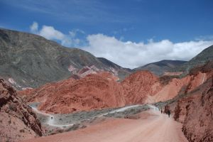 Landscape around the town of Purmamarca, Jujuy, Argentina