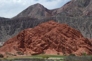 Rocks around the town of Purmamarca, Jujuy, Argentina