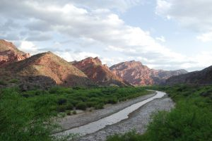 The 'Quebrada de Cafayate' valley, Argentina