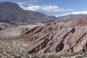 The valley known as the 'Quebrada de Cafayate', Salta