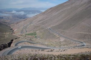 Road from Purmamarca to Susques, Jujuy