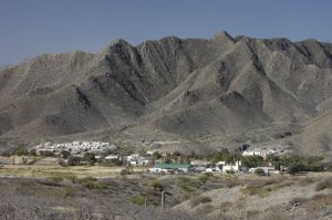 The town of Seclantás, in the 'Calchaquí' valley, Salta province