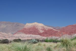 "Sedimentary rocks, in the ""Quebrada de Humahuaca"", Jujuy"