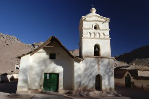 The church of Susques, on the Altiplano of the province of Jujuy