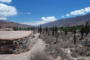 The pre-Inca ruins of Tilcara, province of Jujuy, Argentina