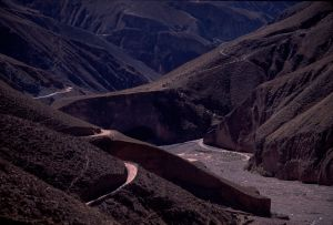 The valley where the village of Iruya is located, Salta