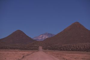 Road, Argentina, on the Andean altiplano (high plateau)